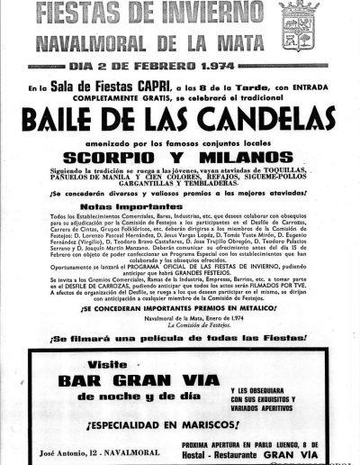 Baile de las Candelas de 1974